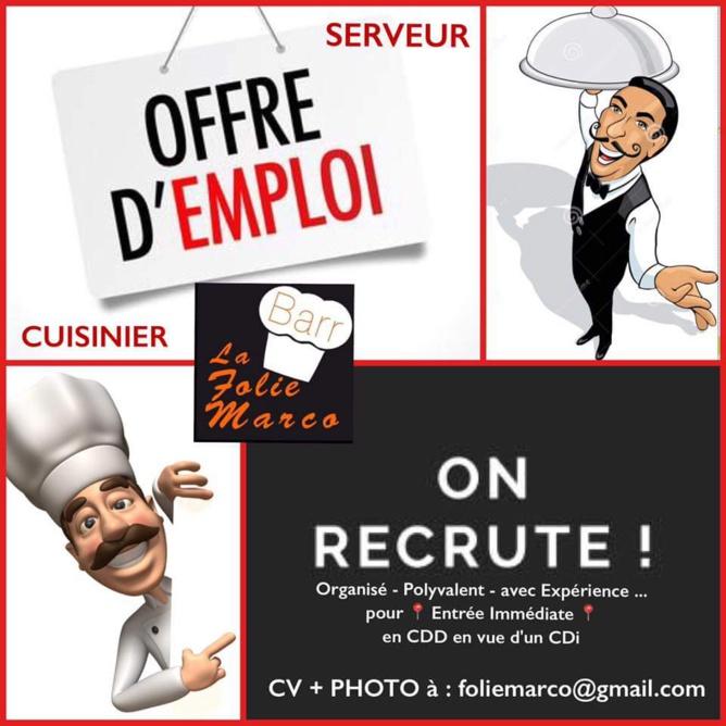 recherche emploi restaurant