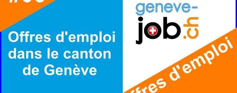 trouver un emploi a geneve