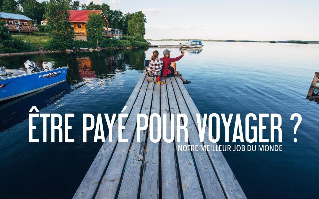 trouver un emploi qui permet de voyager