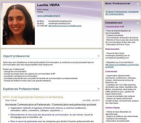 recherche emploi communication